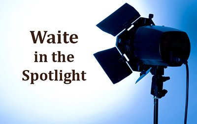 'Waite in the Spotlight' event – TEDx-style talks here on campus!