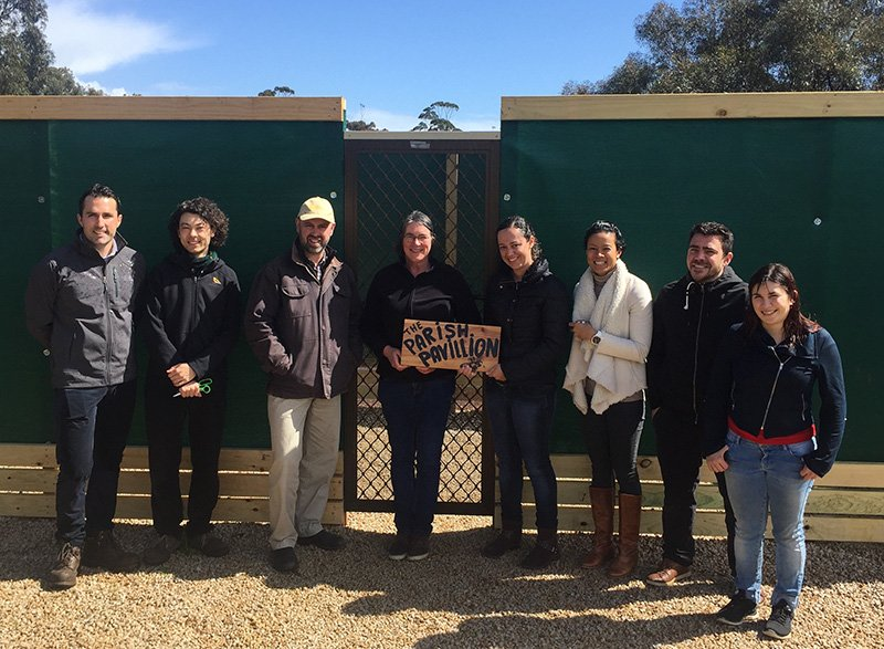 Parish Pavilion bee house opened at Waite