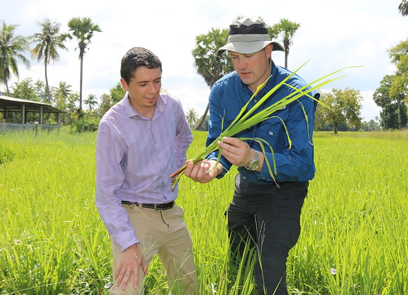 Management practices for improved farming systems in Cambodia and Lao PDR