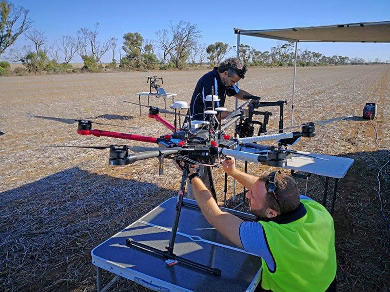 UAV-field-tests