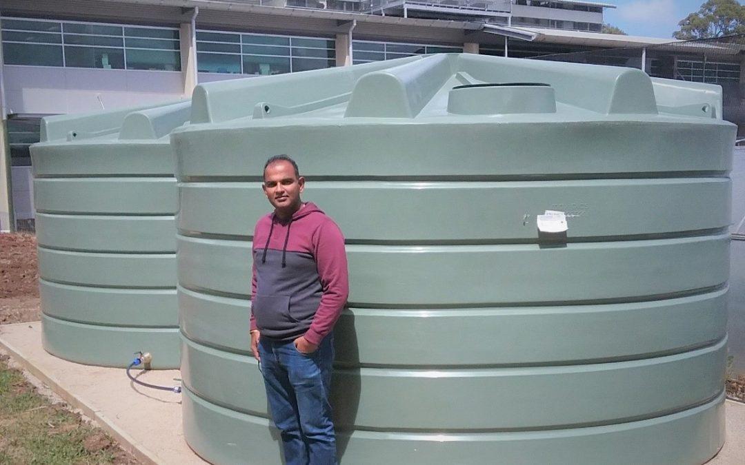 Rainwater harvesting @ Waite