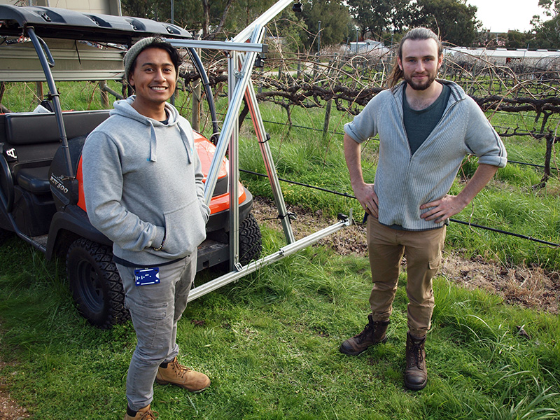 Meet the People of Waite: Adam Smith and Najid Pereira-Ishak