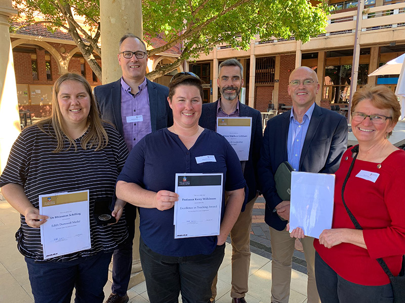 Faculty of Sciences Awards 2019 – AFW Winners